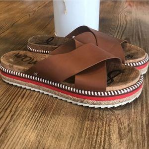 Sam Edelman Leyton Espadrille Flatform Sandals